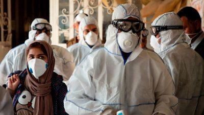 Coronavirus-Epidemie im Iran: Nachbarländer machen Grenze dicht