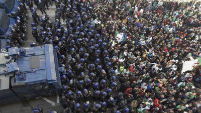 Ausschreitungen in Algerien nach Verurteilung eines Aktivisten