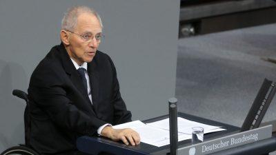"""Schäuble verteidigt Gabriels Wechsel zur Deutschen Bank: """"Was soll daran anrüchig sein?"""""""