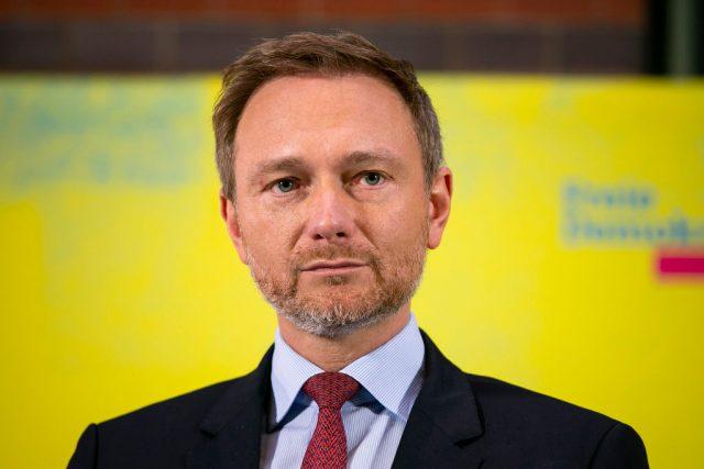 Christian Lindner (FDP) fordert Neuwahlen in Thüringen.