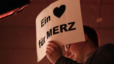 Kantar-Umfrage: Mehrheit traut Merz am ehesten den CDU-Vorsitz und die Kanzlerschaft zu