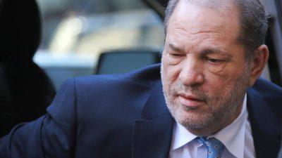 Vergewaltigung und sexuelle Nötigung – Harvey Weinstein in zwei von vier Punkten schuldig gesprochen