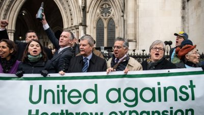 """Großbritannien: Heathrow-Ausbau gestoppt – """"Klimaschutz""""-Lobby will nun auch Straßenbau lahmlegen"""