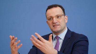 Spahn und EU-Kommission fordern gemeinsamen Kampf gegen Coronavirus