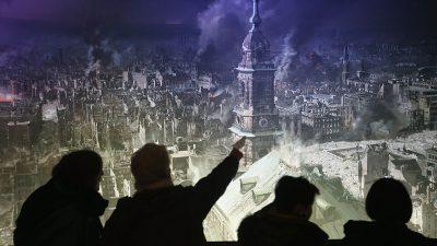 Dresden: Linke stören Gedenkveranstaltungen zu Bombenopfern