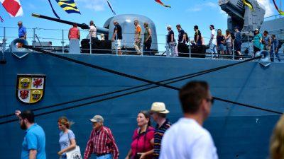 Kieler Woche: Kreisverband der Grünen will die Bundeswehr nicht als Aussteller – Andere Politiker widersprechen
