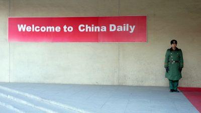 """USA stufen chinesische Medien im Ausland als """"Waffen des Propagandaapparats der KPCh"""" ein"""