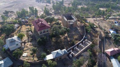 Neuer Monumentalbau auf Tempelberg von Yeha im äthiopischen Hochland entdeckt