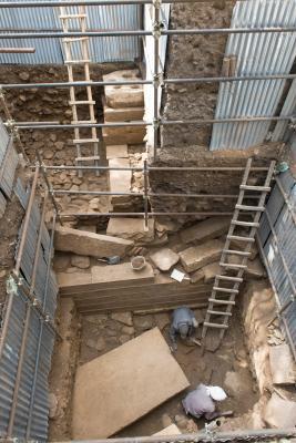 Ausgrabung in Yeha
