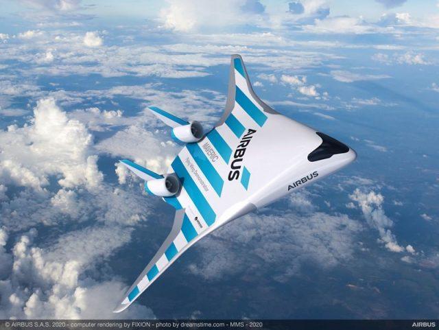 3D-Rendering des neuen Maveric-Flugzeugs.