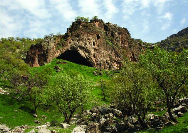 Shanidar-Höhle - Fundort der Neanderthaler-Bestattungen