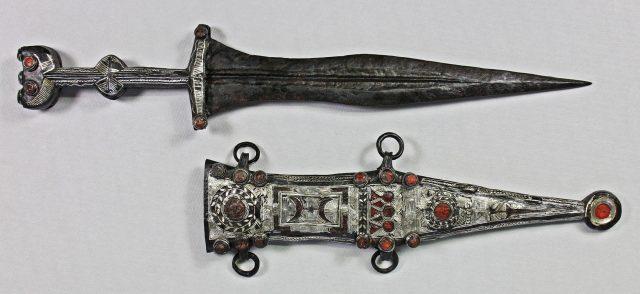 Die römische Waffe nach der Restaurierung
