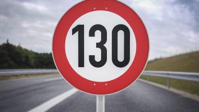 Tempolimit auf Autobahnen: Langsamer fahren kostet bis zu 6,7 Milliarden Euro