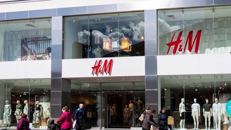 Einer der vielen Läden von H&M.
