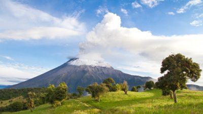 Tungurahua-Vulkan in Ecuador zeigt Frühwarnsignale eines potenziellen Zusammenbruchs