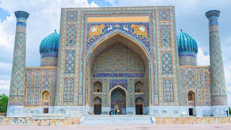Samarkand, Usbekistan.
