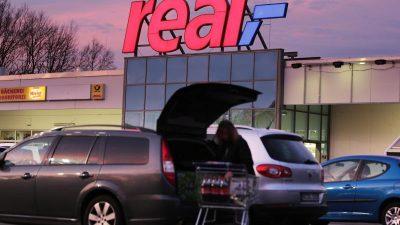 Kommerzielle Einigung bei Real-Verkauf steht – 50 Filialen sollen bleiben