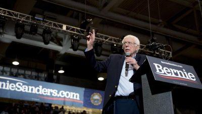 Demokrat Sanders geht als Favorit in zweite US-Vorwahl