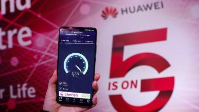 Frankreich: Macron ebnet mit Corona-Anordnungen den Weg für Huawei's 5G-Technik