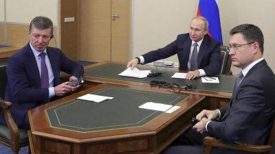 Ukraine: Neue Chefunterhändler sollen Fortschritte bringen