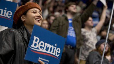 Sanders gewinnt Vorwahl der US-Demokraten in New Hampshire