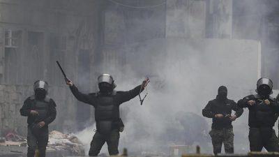 Neue Zusammenstöße zwischen Demonstranten und Polizisten in Bagdad