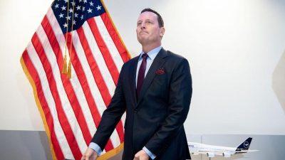 Berlin: Grenell will als US-Botschafter in Deutschland abtreten