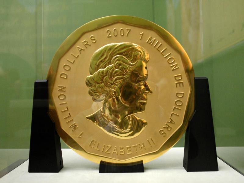 Großrazzia zum Bode-Museum Berlin: Ermittler hoffen, Reste der Goldmünze zu finden