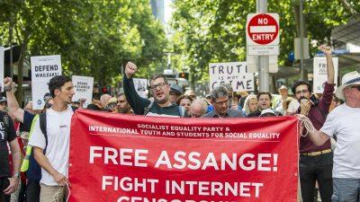 Auslieferungsverfahren gegen Julian Assange von britischer Richterin bis Mai vertagt