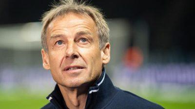 «Gibt eine Lügenkultur»: Klinsmann attackiert Hertha