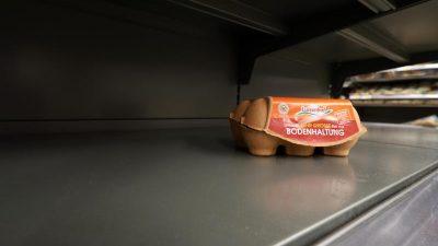Hamsterkäufe in deutschen Supermärkten nehmen zu