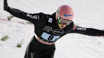 Skispringer feiernSieg in Lahti – «Voll auf Attacke»