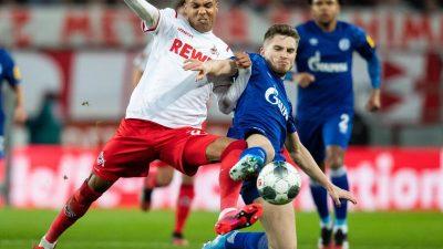 Köln gelingt gegen Schalke der Sprung auf Rang zehn