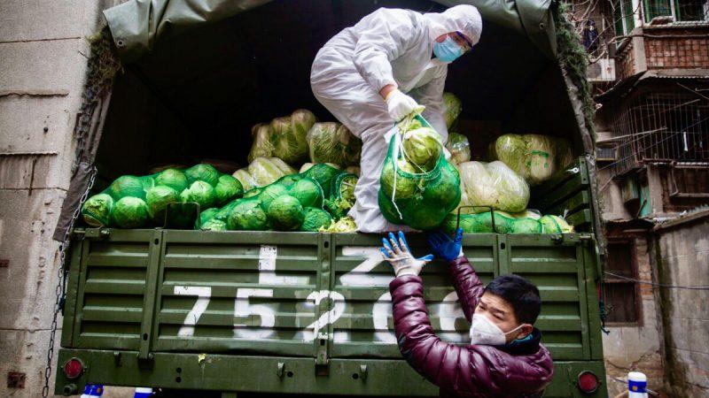Die Provinz Hubei steht seit Ende Januar unter Quarantäne, Lebensmittel und Medikamente scheinen knapp zu werden.