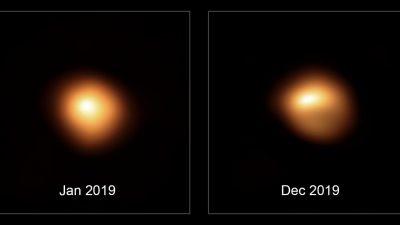 Staubiger Orion: Fieber messen beim Beteigeuze in 650 Lichtjahren Entfernung