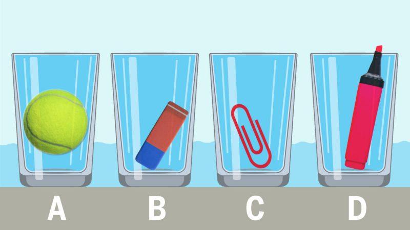 Archimedes löste ein ähnliches Rätsel in der Badewanne.