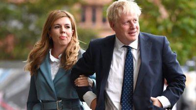 Carrie und Boris Johnson erwarten ihr zweites gemeinsames Kind