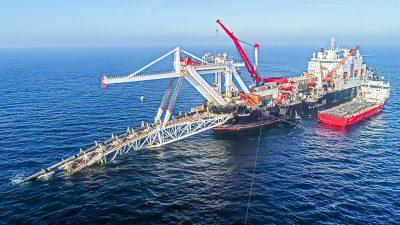 Uniper-Chef erwartet Fertigbau von Nord Stream 2