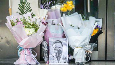 Chinesen wütend: Kein Untersuchungsergebnis über den Tod von Li Wenliang