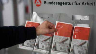 Kurzarbeit in fast einer halben Million Unternehmen in Deutschland