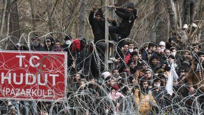 Frontex erwartet neuen Zustrom von Migranten an griechisch-türkischer Grenze