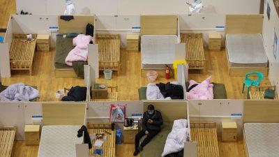 Internes Dokument aus Peking: Provisorische Krankenhäuser werden eingerichtet