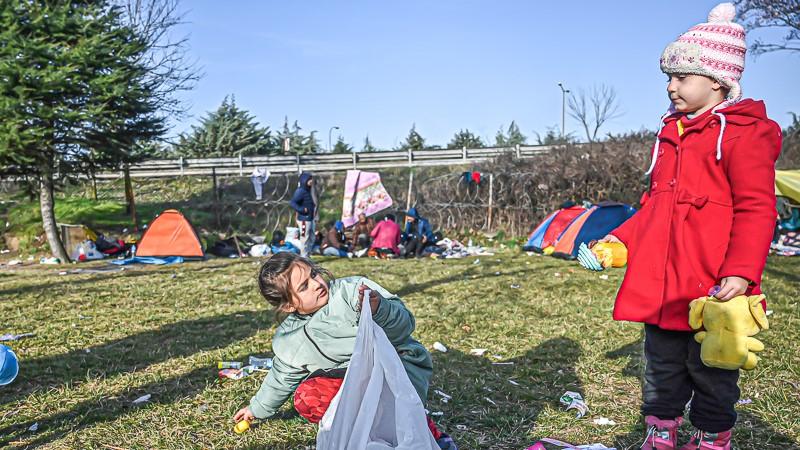 Erste Flüchtlingskinder aus Moria sollen am Mittwoch nach Deutschland kommen