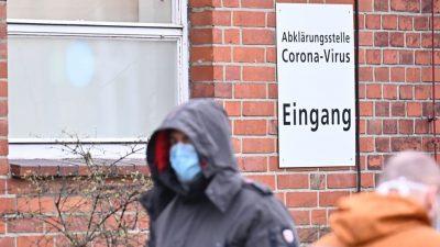 Berlin will Bußgelder bis 500 Euro für Verstöße gegen das Kontaktverbot einführen
