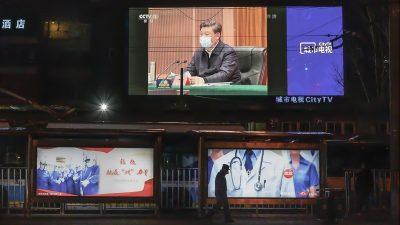 Corona: Chinas Regime inszeniert mit Xis Reise nach Wuhan politische Show
