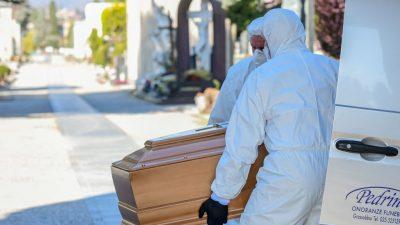 Italien: Angehörige von Corona-Opfern bringen 50 Strafanzeigen bei Staatsanwaltschaft in Bergamo ein