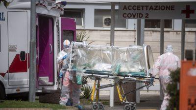 Italien: Leichenhallen in Bergamo überfüllt – Armee transportiert Särge ab