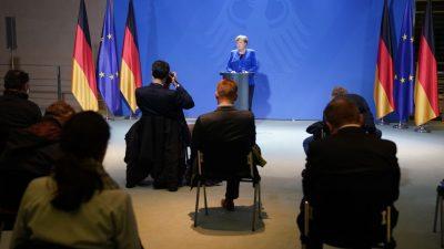 Verkündet Merkel heute Ausgangssperre für Deutschland? Spekulationen auch über Grundgesetzänderung