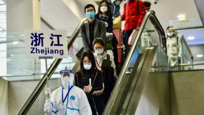 China sucht Sündenbock: Wer ins Land einreist und infiziert ist, wird bestraft