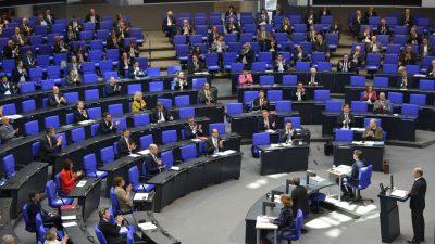 Bundestag senkt Hürde für Beschlussfähigkeit